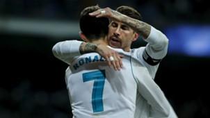 Cristiano Ronaldo Sergio Ramos Real Madrid