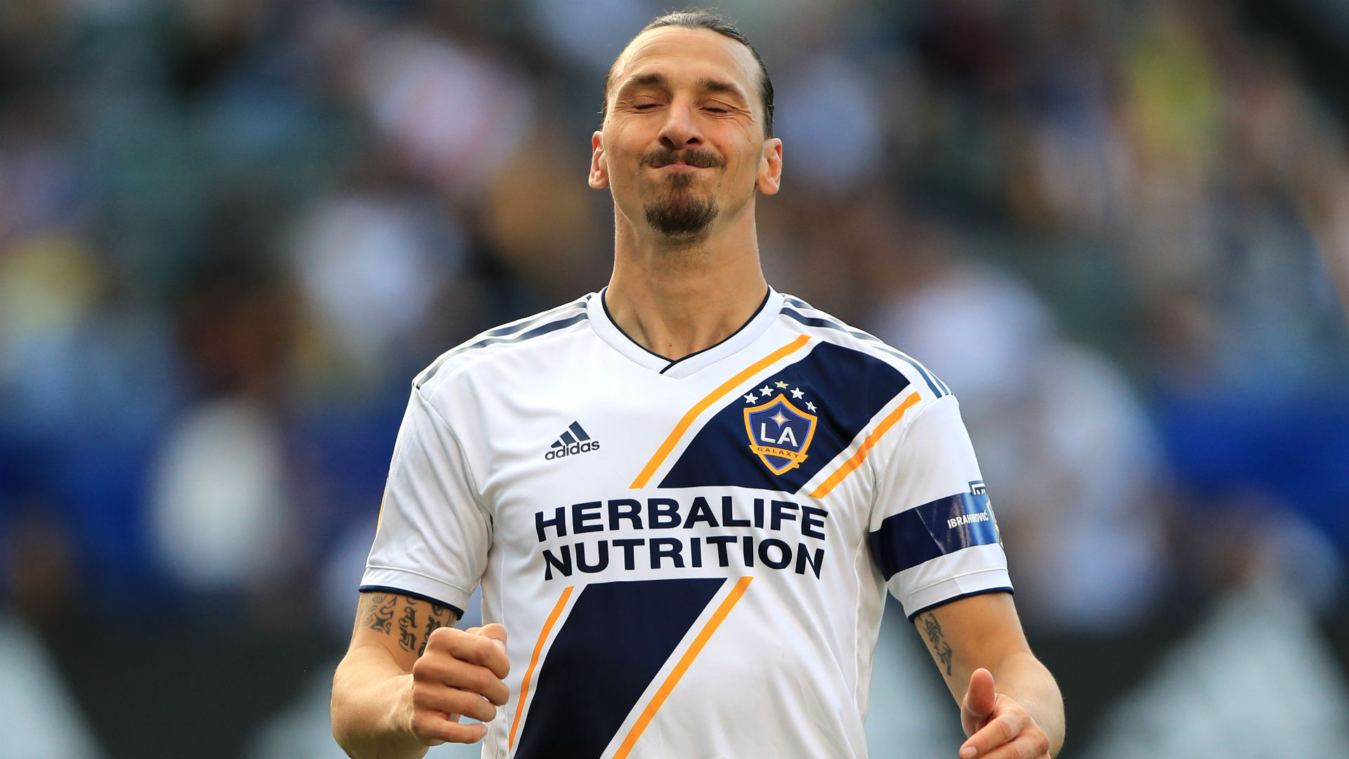newest collection 64d2c 6f14e MSL news: La Galaxy match-winner Zlatan Ibrahimovic reacts ...