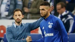 Nabil Bentaleb Domenico Tedesco FC Schalke 04 19102017