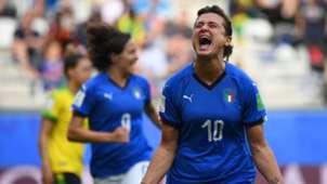 Cristiana Girelli Jamaica Italy Women's World Cup