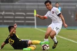 Hong Kong Premier league, Yuen Long 2:0 won over Lee Man.