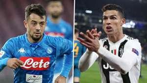 Amin Younes Napoli Cristiano Ronaldo Juventus