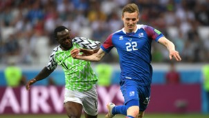 Nigeria vs. Iceland - Victor Moses