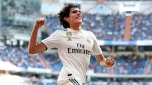 Jesus Vallejo Real Madrid vs Villarreal La Liga 2018-19