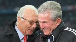 Franz Beckenbauer Jupp Heynckes Bayern Munchen
