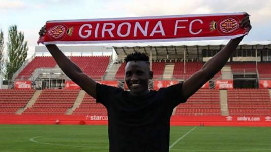 Michael Olunga of FC Girona