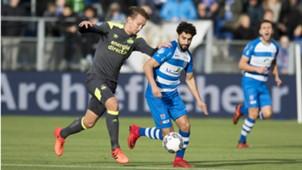 PEC Zwolle - PSV, Eredivisie 11192017