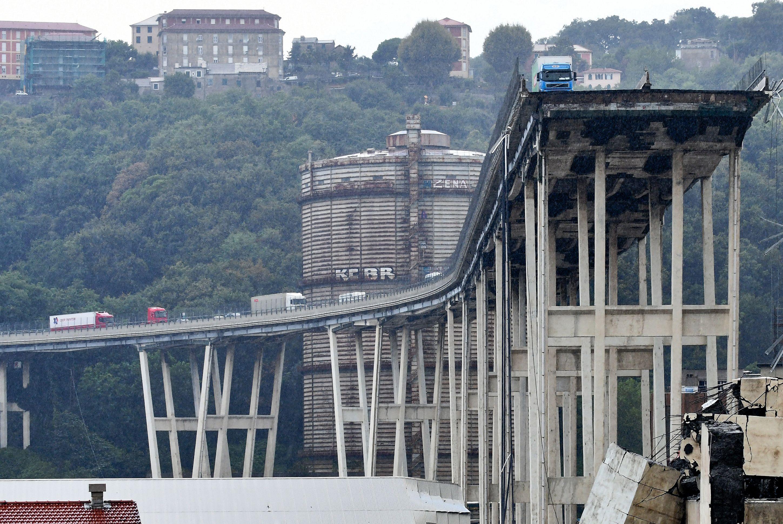 Ponte Genoa Itália