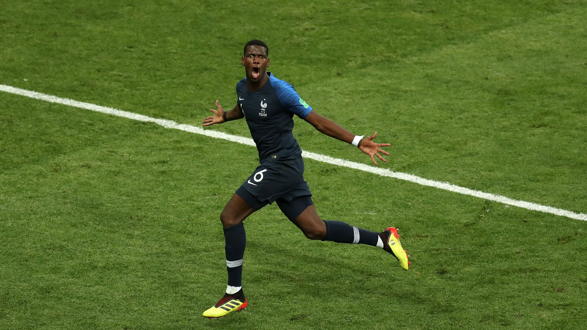 france croatia - paul pogba - world cup final - 15072018