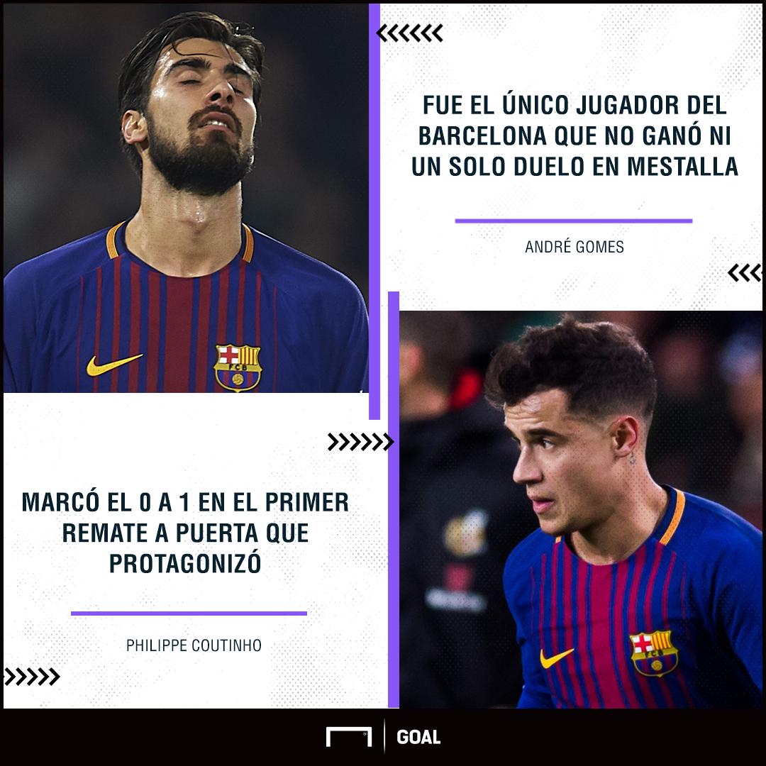 andré gomes coutinho vuelta semifinales Copa del Rey Mestalla