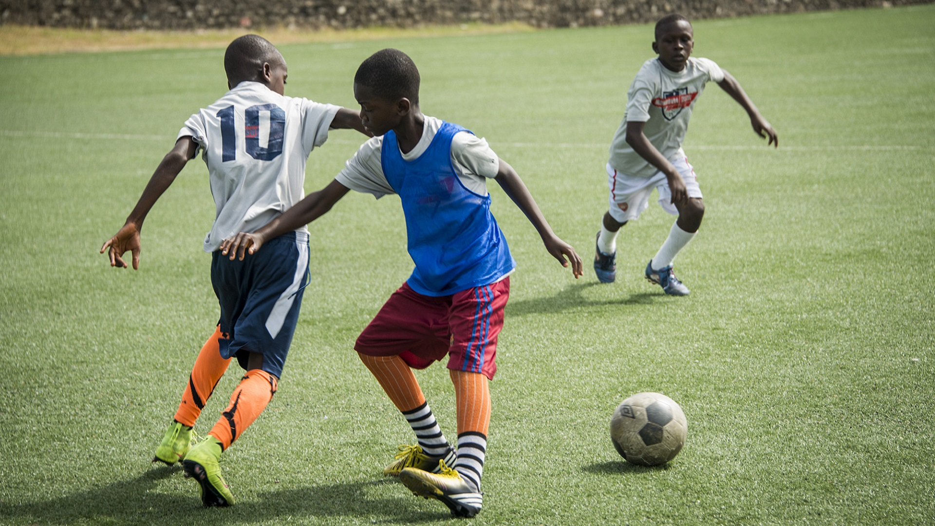 Monrovia Football Academy football class