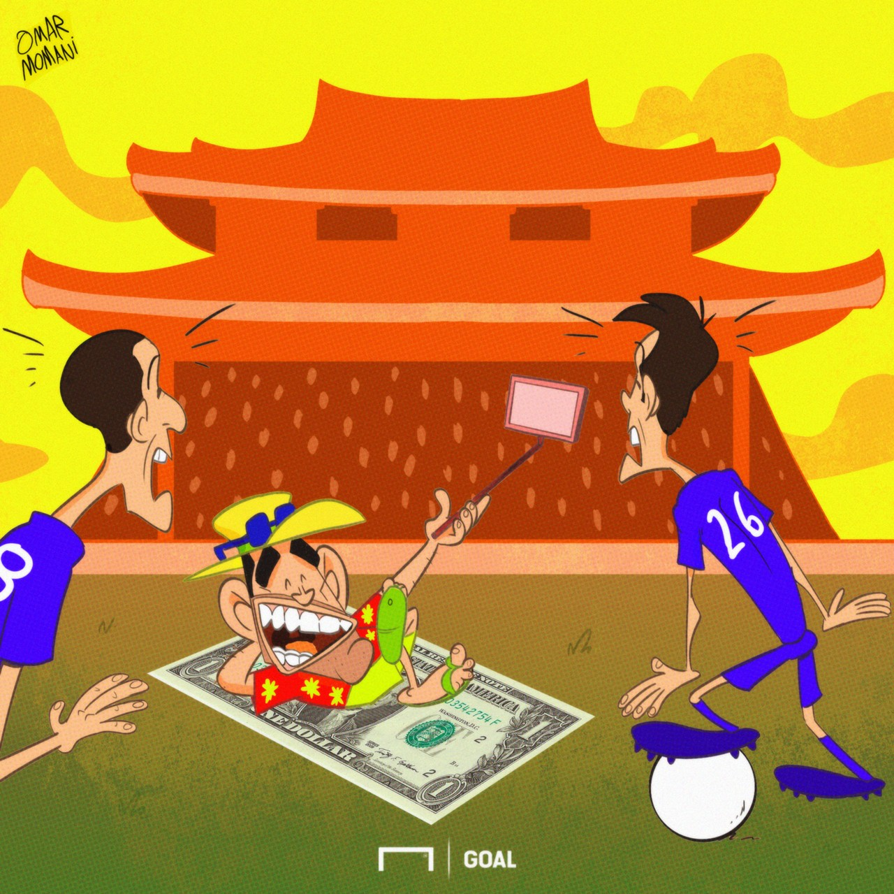 Carlos Tevez Cartoon