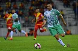 Sergio Aguero of Melaka United against SelangorSuper League 2017