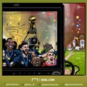 Kartun Prancis Juara Piala Dunia 2018