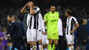 Giorgio Chiellini Juventus Real Madrid Champions League 06032017