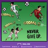 Kartun Goal Indonesia 2018 - Drama Di Ujung Waktu