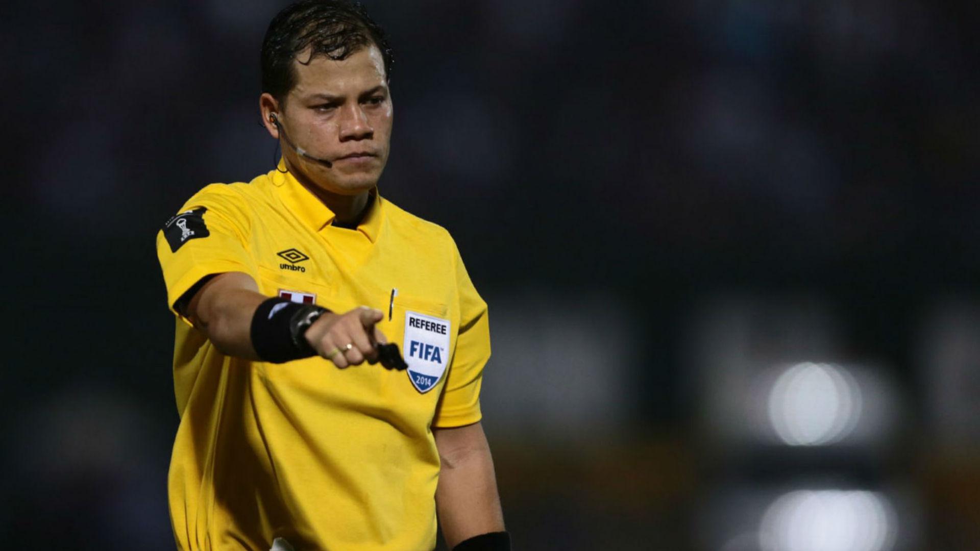 Víctor Carrillo arbitro peruano CONMEBOL