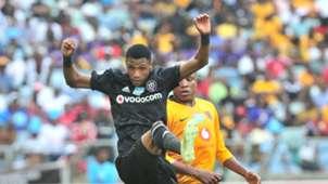 Vincent Pule, Orlando Pirates & Lebogang Manyama, Kaizer Chiefs, November 2018