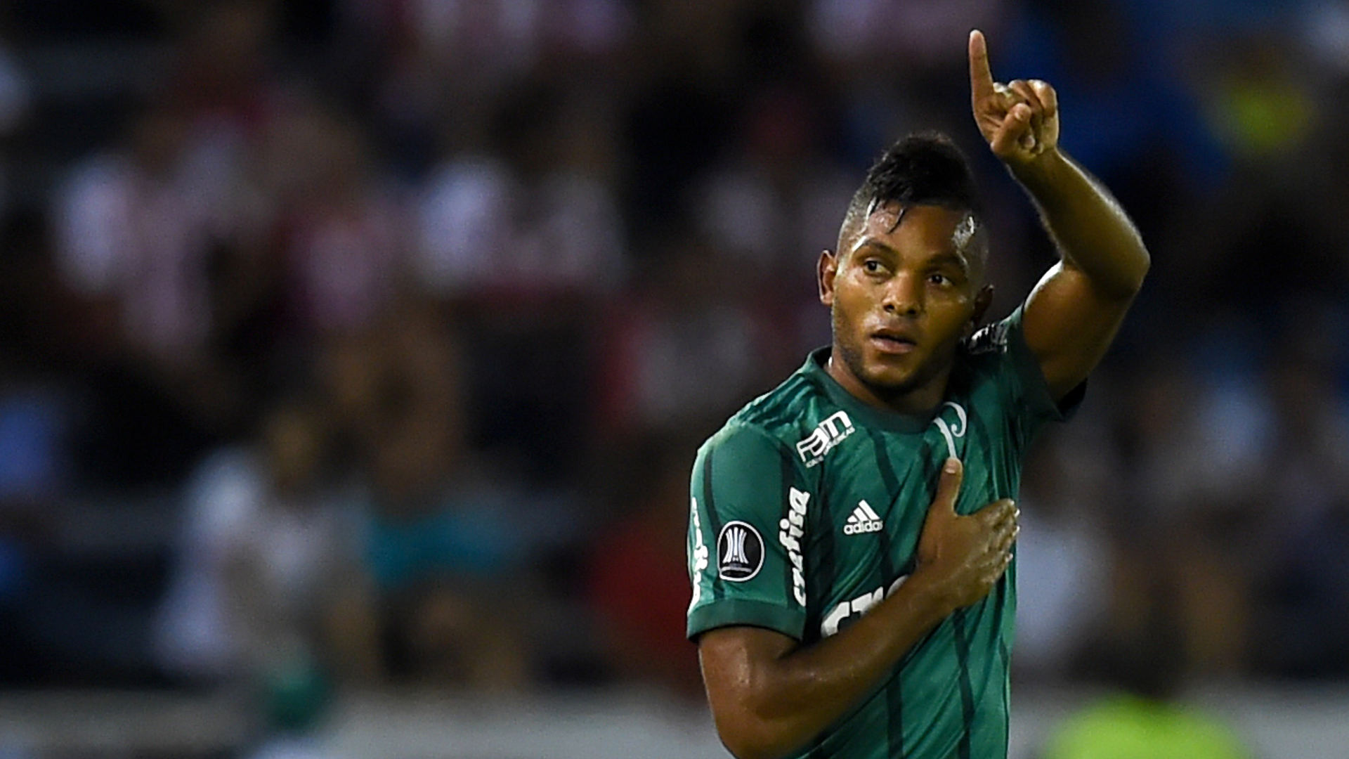 Miguel Borja Junior Palmeiras Copa Libertadores 01032018