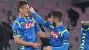 Fabian Ruiz Napoli Salzburg Europa League