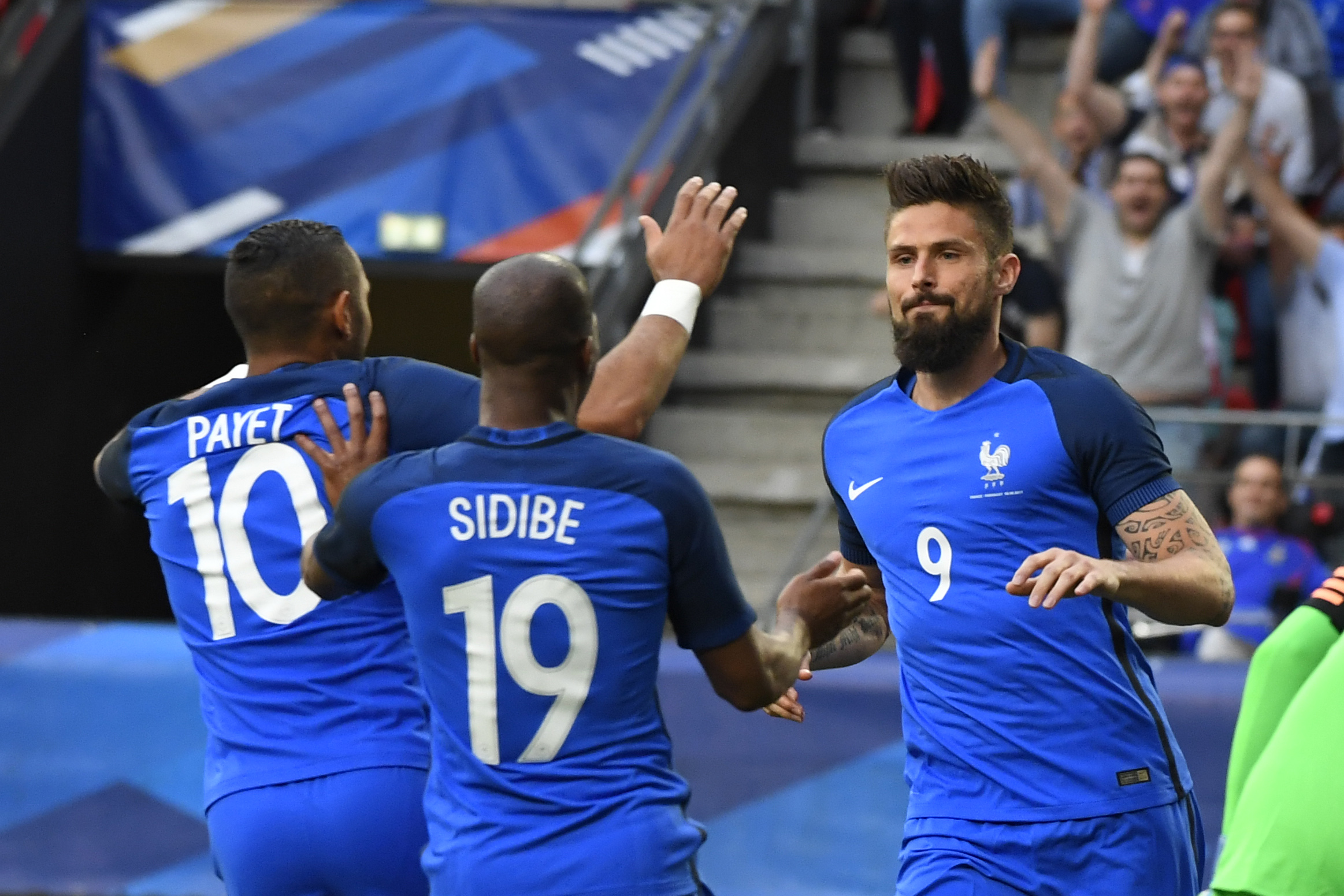 Olivier Giroud France Paraguay Friendly 02062017