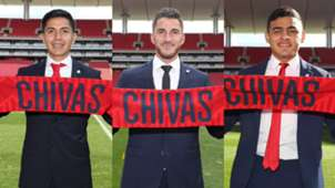 Refuerzos Chivas Apertura 2018