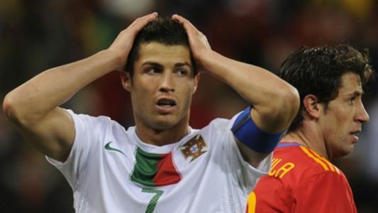 Cristiano Ronaldo Portugal World Cup 2010 Spain