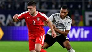 Luka Jovic Jonathan Tah Serbia Germany 2019