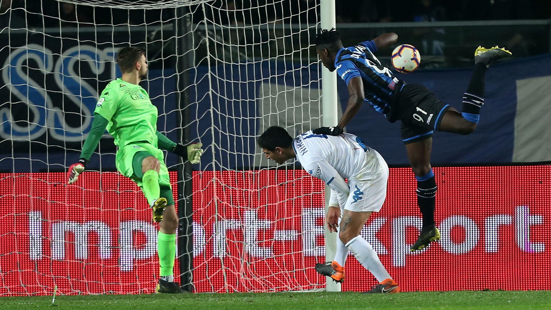 Duvan Zapata Atalanta Empoli Serie A