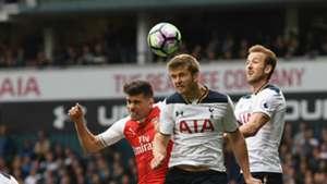 Gabriel Eric Dier Harry Kane Arsenal Tottenham 04032016