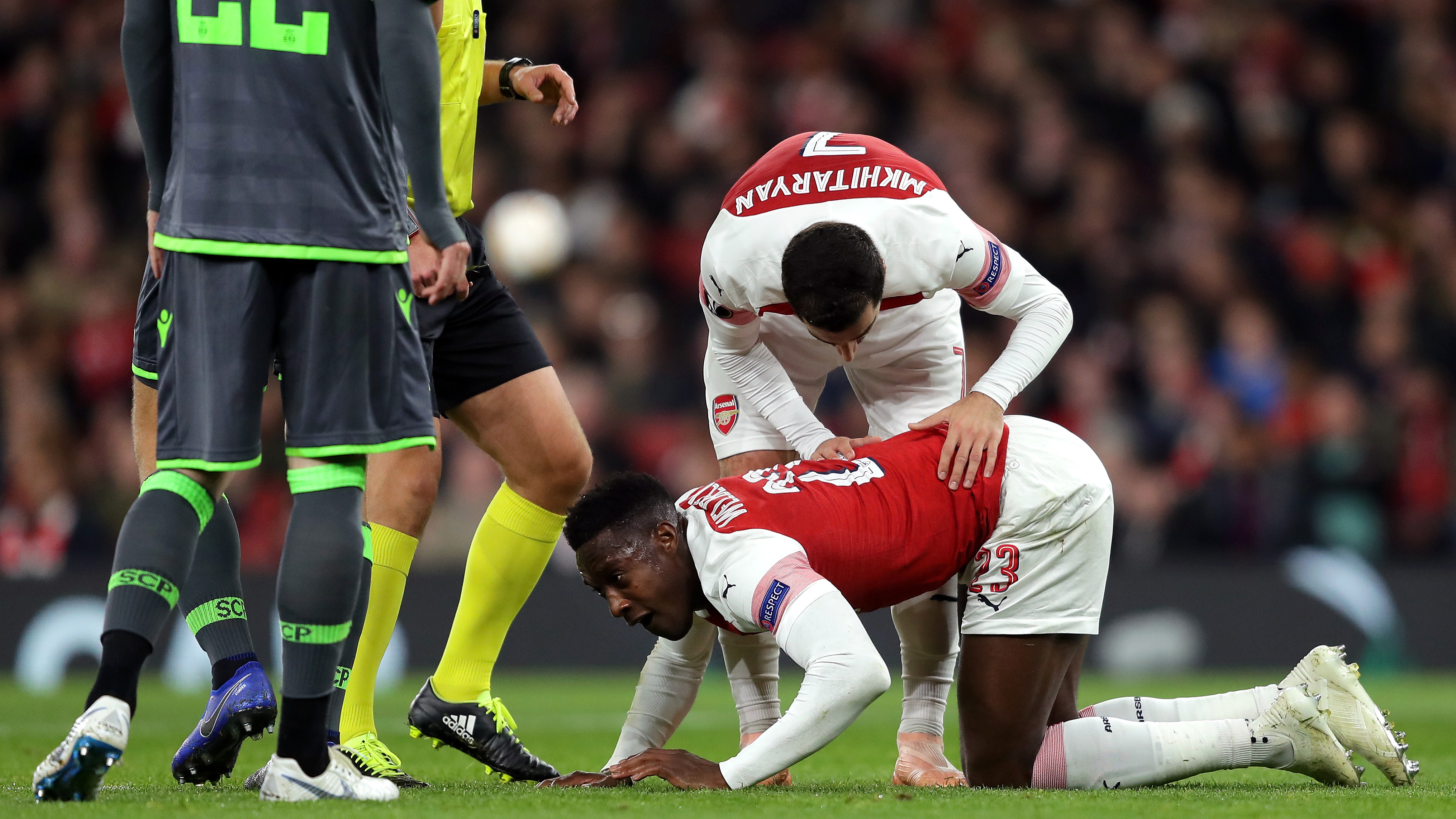 Arsenal Danny Welbeck Sporting Europe