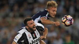 Andrea Barzagli, Ciro Immobile - Juventus-Lazio