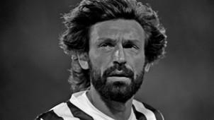pirlo black and white