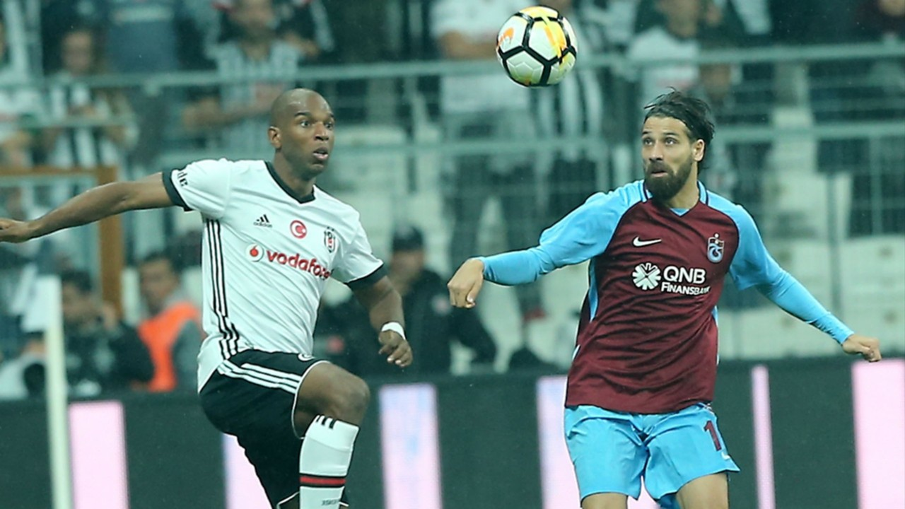 Ryan Babel Olcay Sahan Besiktas Trabzonspor 10012017