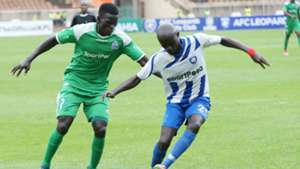 Ezekiel Odera of AFC Leopards v Innocent Wafula of Gor Mahia.