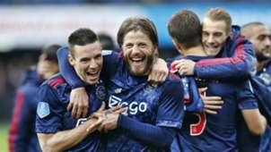 Nick Viergever, Lasse Schöne, Feyenoord - Ajax, 22102017