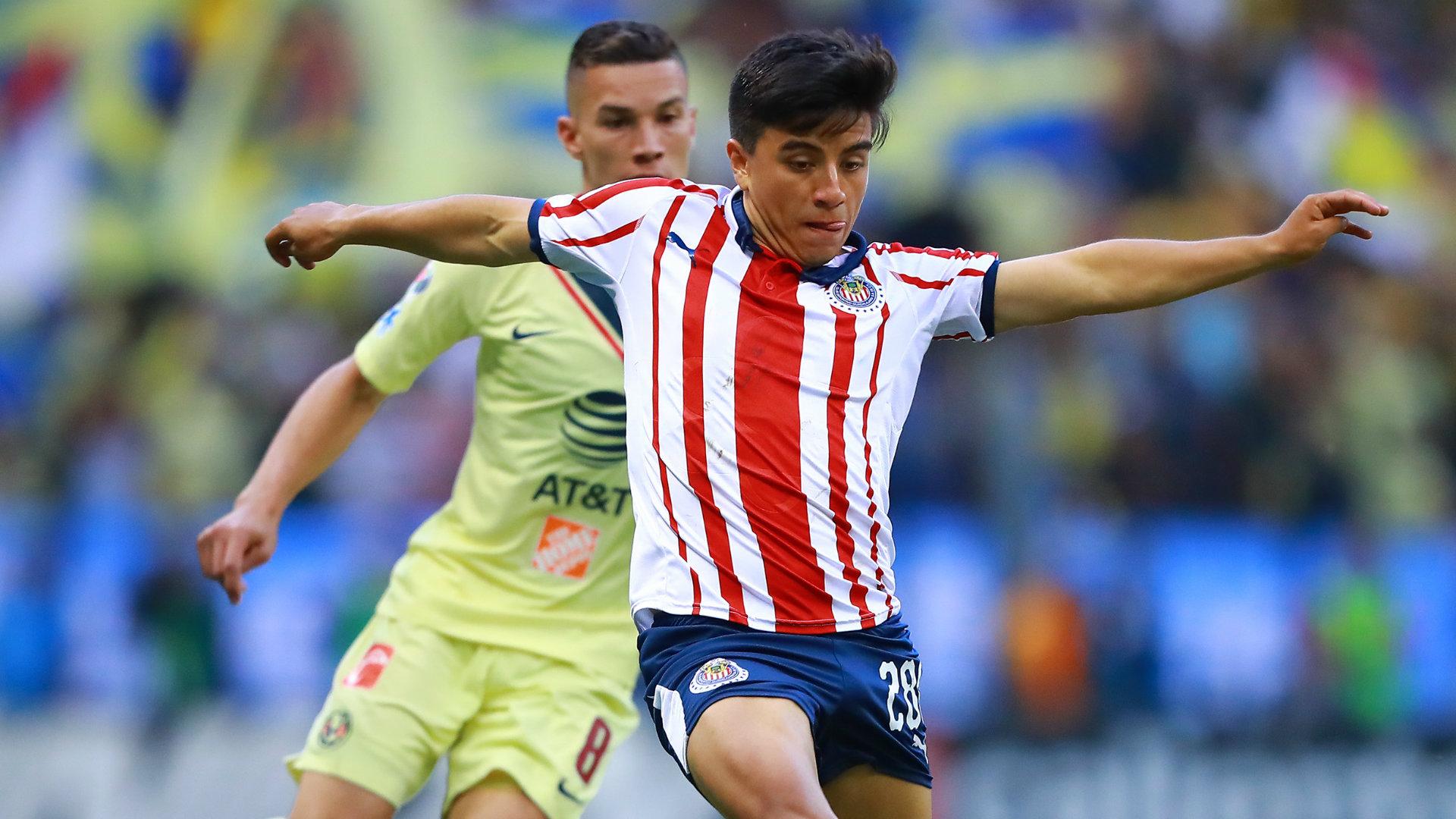 Mateus Uribe Fernando Beltrán América Chivas 110319