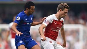Pedro Nacho Monreal Chelsea Arsenal 2018-19