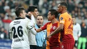 Necip Uysal Yuto Nagatomo Fernando Besiktas Galatasaray 12022018