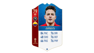 FIFA 18 World Cup CONMEBOL Ratings Arias