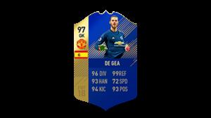 FIFA 18 Ultimate Team of the Season De Gea