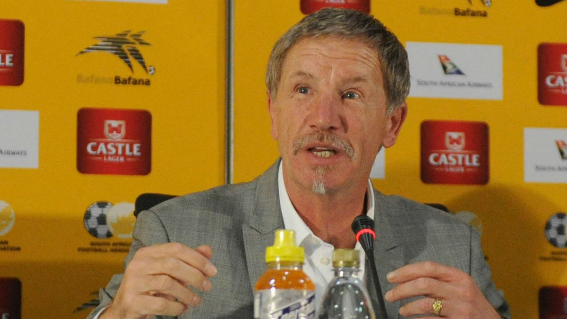 Bafana coach Stuart Baxter explains Andile Jali introduction against Cape Verde