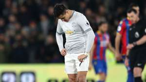 Alexis Sanchez Manchester United Crystal Palace Premier League