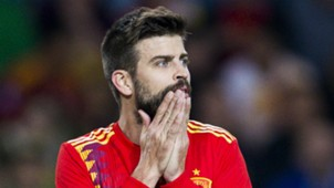 Gerard Pique Spain Costa Rica Friendly