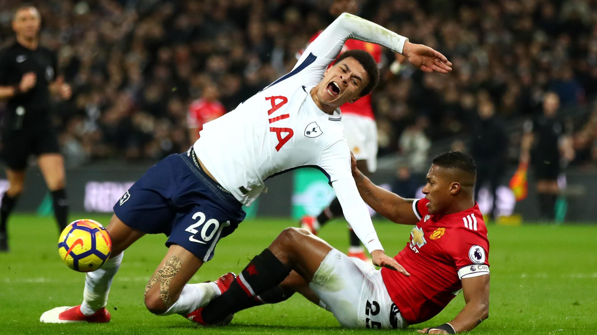 Dele Alli Tottenham Manchester United