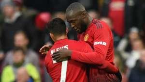 050119 Alexis Sánchez Romelu Lukaku Manchester United Reading