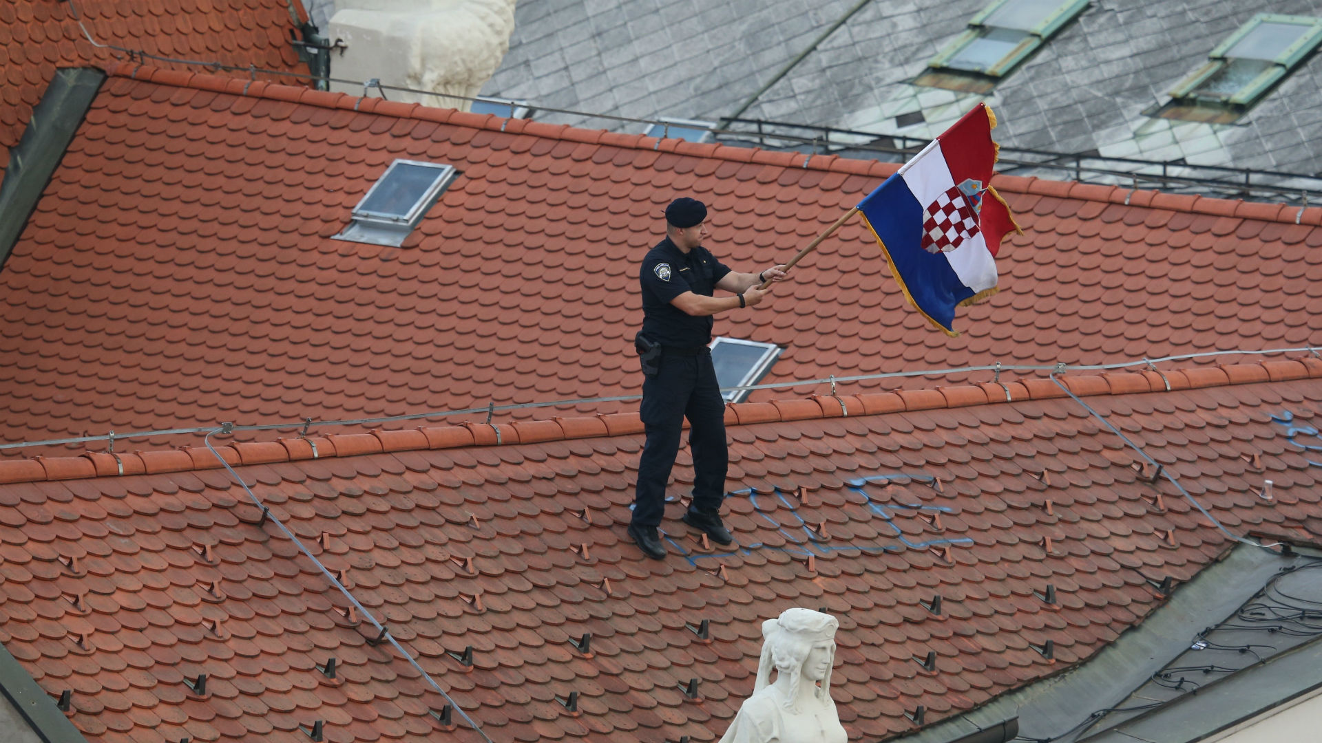 croatia - world cup - police - 16072018