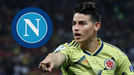 """Napoli-Präsident Aurelio De Laurentiis über Transfer von James Rodriguez: """"Real Madrid ist das Hindernis"""""""