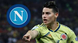 James Rodriguez Colombia Real Madrid Napoli
