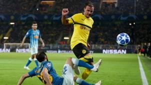 Mario Götze BVB Borussia Dortmund Atletico Madrid 24102018